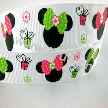 Printed Grosgrain Ribbon For Dog Leash