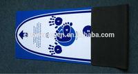 Custom printed recycled rubber yoga mat, small minimum order quantity rubber yoga mats