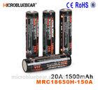 18650 3.7v 1500mAh battery blister pack ego ce4 electronic cigarette