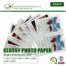 115g glossy photo paper for inkjet printer