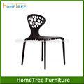 novo design de plástico resina cadeiras