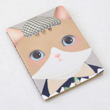 LANGUO cute note book/exercise book with cute katy cat design model :LGKD-2869