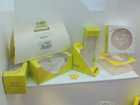 beautiful design paper cake box packaging