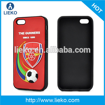 World cup silicone phone case for SAM S5 i9600