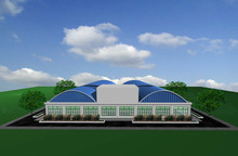 prefabricated building for living ,office,workshop ,warehouse etc.