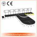 portátil 2014 etapa de ronda con el ferrocarril y 40cm altura de la pasarela para mostrar el resultado de la moda