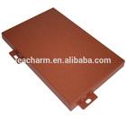 wooden grain aluminum single panel /aluminum facade/aluminum cladding/aluminum plate