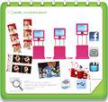portable touch screen foto cabine bom para o serviço de casamento