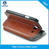 New standing leather case for Samsung Galaxy S3 i9300