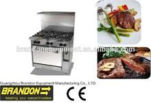 BR36-6 China gas cooking range manufacturer