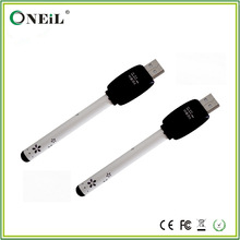 charming/ black and white bud touch/ bud-touch pen with LED light indicator