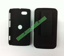 2014 Most Popular Oil Coated Holster Combo Hard Case for Motorola XT621