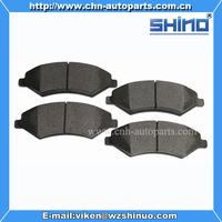 Front brake pads for chery Cross B14(OEM B14-6GN3501080BA)