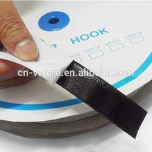 Industrial streghth black nylon self adhesive velcro hook loop tape