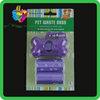 Yiwu scented eco-friendly dog shaped poop bag dispenser
