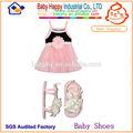 popualr bebê baratos meninas bonitas e sandálias de bebê vestido