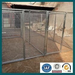 Stainless steel dog kennels/kennel runs