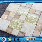 HT618 300X300MM artist oval arch glass wall tile mosaics mural