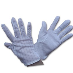 Esd dotted gloves ,China made