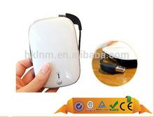 universal 5500mAh USB portable plastic shell power bank charger