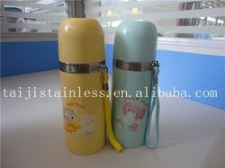 double wall stainless steel flask with bottle cover