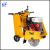 GQR350 walk behind 9HP engine power 120mm cutting depth concrete floor saw