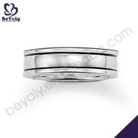 Shiny polish handmade jewelry wholesale skeleton hand ring