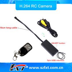 Wireless HD 720P 30fps mini hidden DV camera Long time recording Vibration Motor