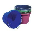 8 quater stackable plastic bucket