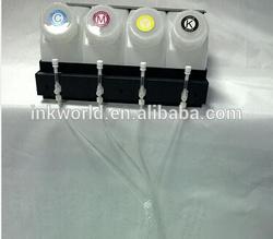Bulk ciss tank+4pcs/6pcs/8pcs/12pcs cartridges with sensor for eco solvent machine