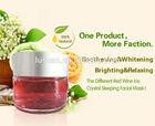 white gold whitening cream of red wine diamond collagen crystal skin whitening facial mask