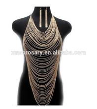 Hot Sale Fashion Alloy Body Chains For Sexy Woman XWB-1010