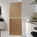 unfinished mão esculpida em madeira maciça de carvalho porta