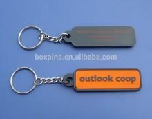 custom logo PVC keychain for promotion