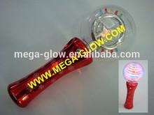 flashing christmas gift,flashing star spinner