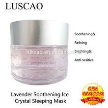 whitening hydroquinone for lavender fibroin whitening moisture facial mask