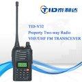 Profesional td-v32 uhf/vhf wouxun radio de dos vías