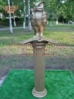 bronze eagle with column