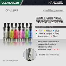 Hangsen Holding hottest selling vaporing cigarette portable ego colorful battery