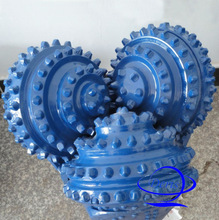 rubber /metal sealed bearing IADC 537 insert button blue fast drilling rate 20'' tricone rock bit