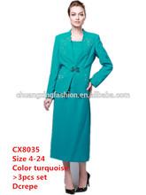 2014 Fashion Cheap Ladies Suit Women Office Suits Set