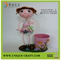 2014 novo produto china fornecedor de decoração de casa de plástico vasos para plantas