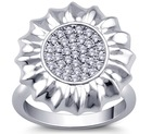 2SHE Vogue 925 Sterling silver jewelry ring mold