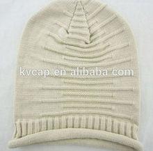 Autumn Winter Caps Boys&girls Unisex Folded Knitted Wool Hat