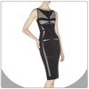 Beautiful sexy V neck dress bodycon women fashion dress bandage 40029