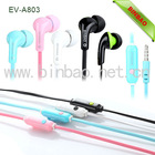 factory wholesale customized Logo earphone with mic for iphone