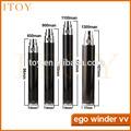 2014 nuevo diseño de producto de voltaje variable ego winder vv cigarrillo electrónico de venta al por mayor mecánica mod smok furia s