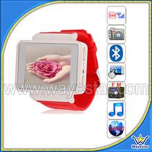 Latest Wrist Watch Phone 1.8inch QVGA BT Touch Screen Video Recorder FM