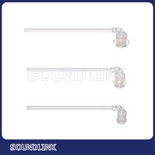 Cheap hearing-aid parts silicone ear tips for BTE hearing aid