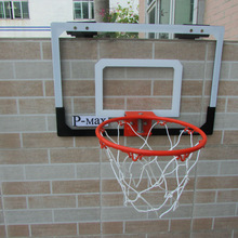 Basketball Hoop & Backboard Set Door Wall Mounted